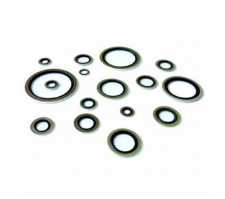 Podkładki metalowo-gumowe